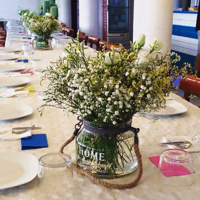 decoracion eventos banquetes badalona barcelona bodas en la playa