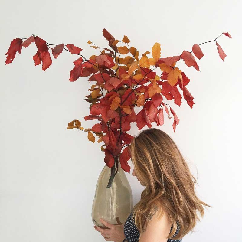 Decoración florarl otoñal, en Trencadissa art floral, venta online para toda España