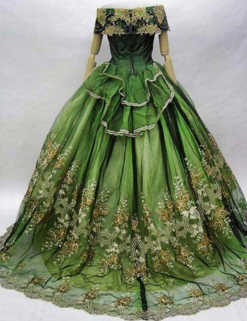 Vestido antiguo, en nuestro blog