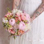 Ramo de novia en forma de bouquet