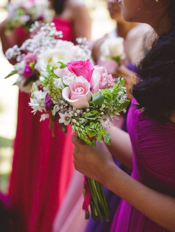 Réplica de ramo de novia en Trencadissa art floral Badalona