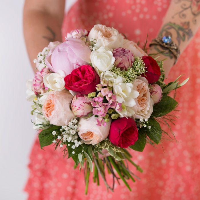 Ramos de novia con flores naturales en Badalona