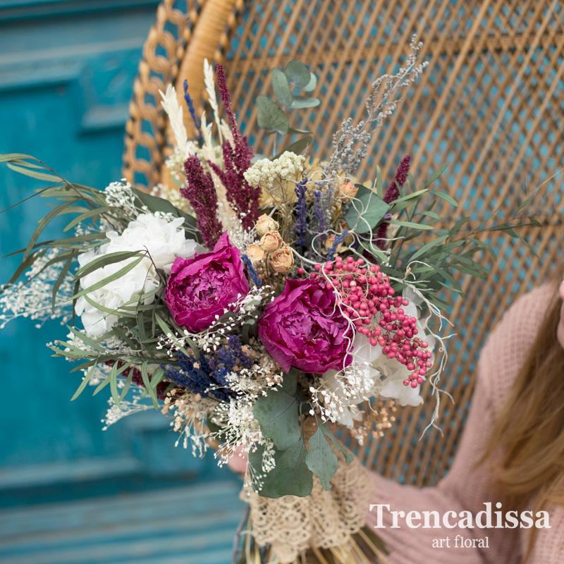 AGATHA, ramo de novia preservado