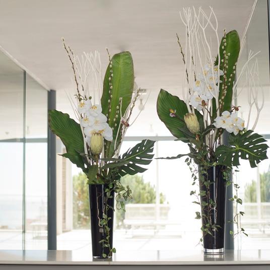 Decoración floral para empresas, Floristeria Trencadissa en Badalona