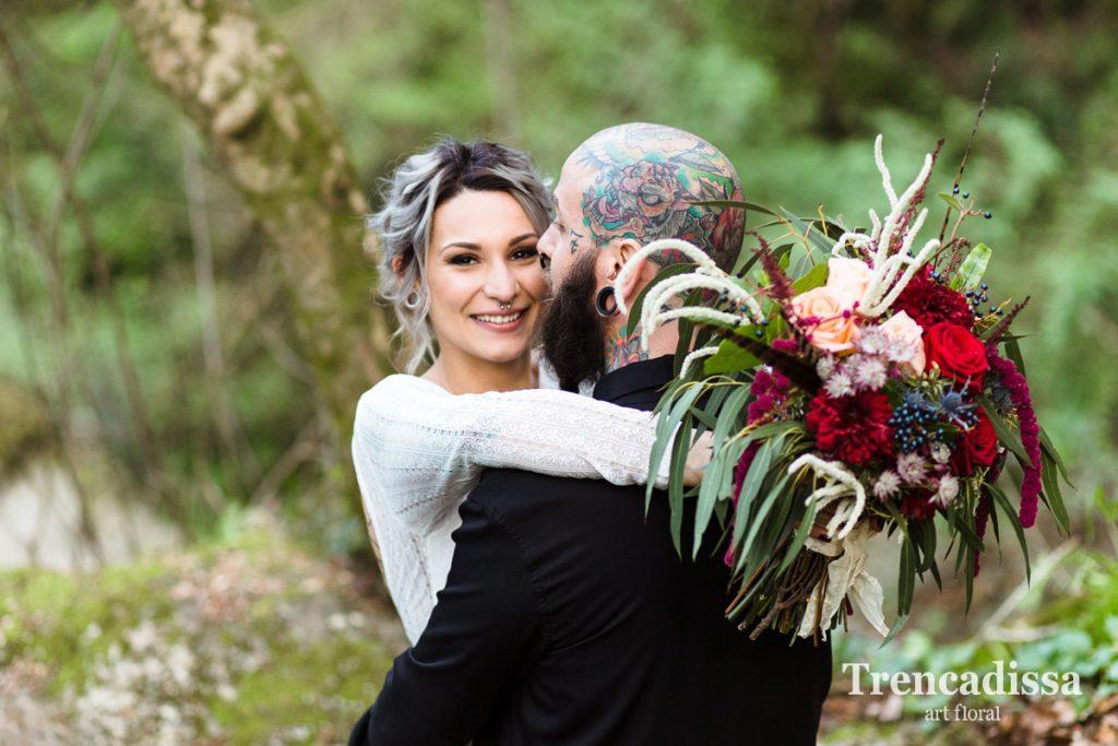 Bouquets de flores naturales o preservadas para bodas o decoración de empresas