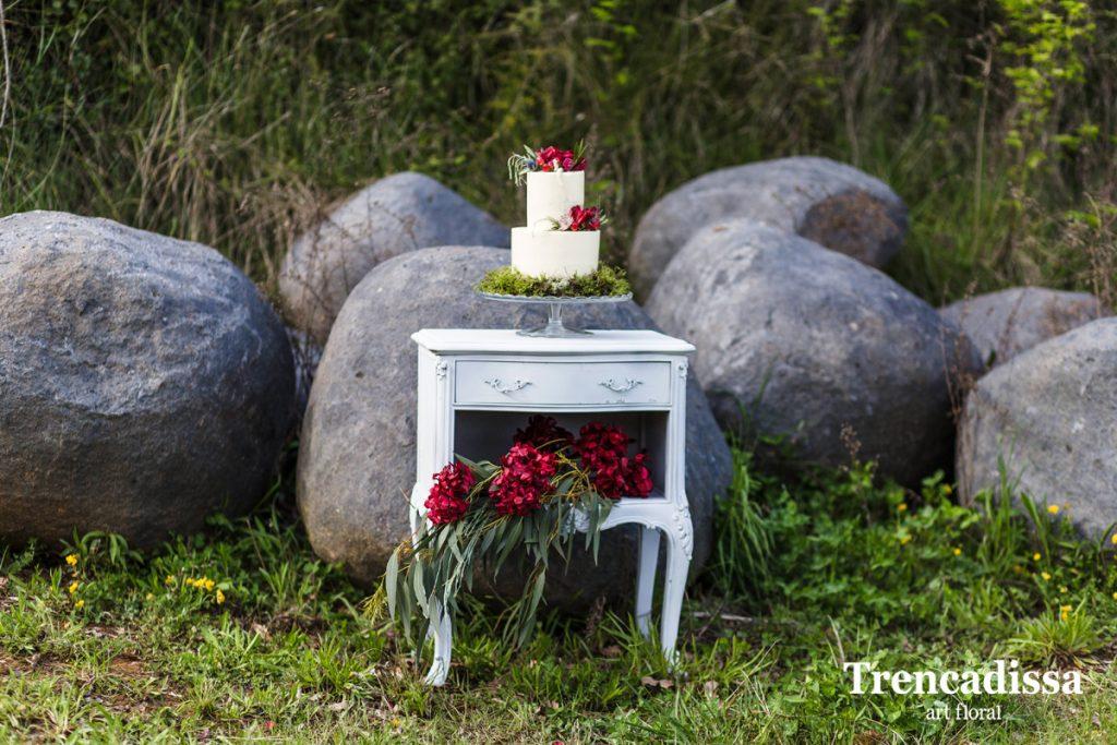 Decoración de los banquetes de bodas, comuniones y fiestas familiares y de empresa