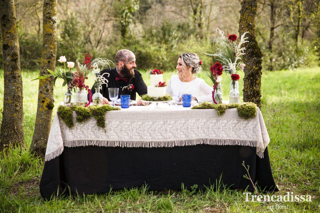 Decoración floral de mesas para eventos familiares y de empresas en Barcelona
