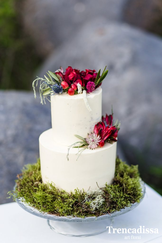 Decoración integral de tartas para bodas y eventos de todo tipo