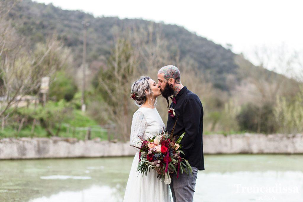 Decoración integral de bodas con flores secas y preservadas o naturales y frescas