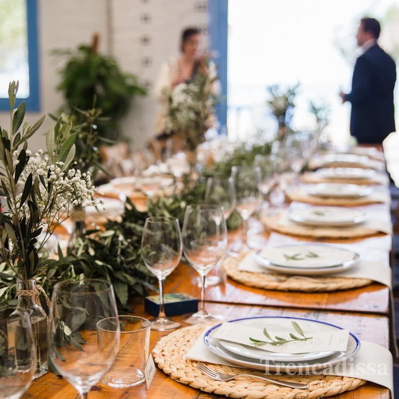 Decoración floral integral de bodas y banquetes en Badalona