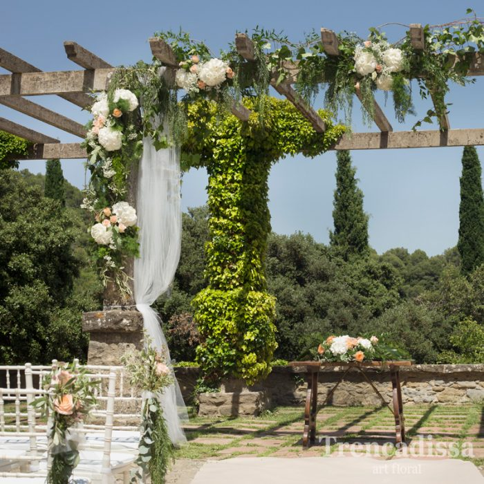 Decoración floral integral de bodas y eventos