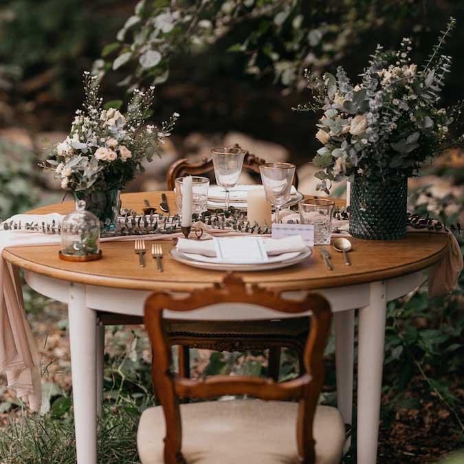 Decoración de bodas y eventos con flores