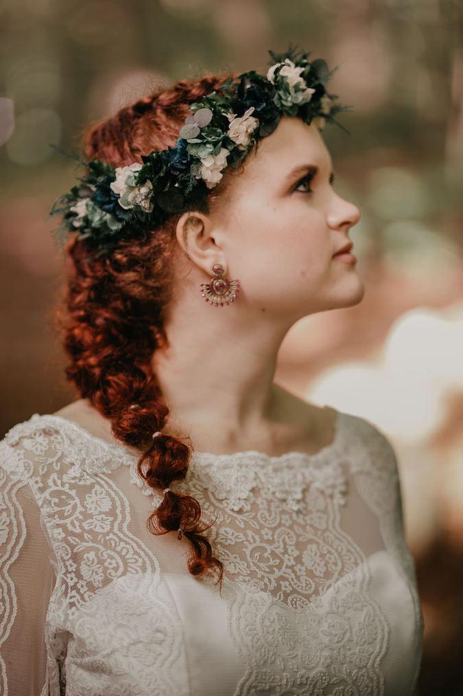 Ramos de novia y coronas con flor preservada en Badalona y venta online