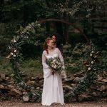 Decoración floral inspirada en una boda celta