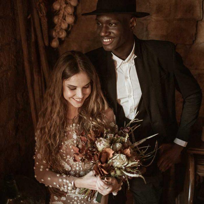 Inspiración para bodas de estilo boho, folk