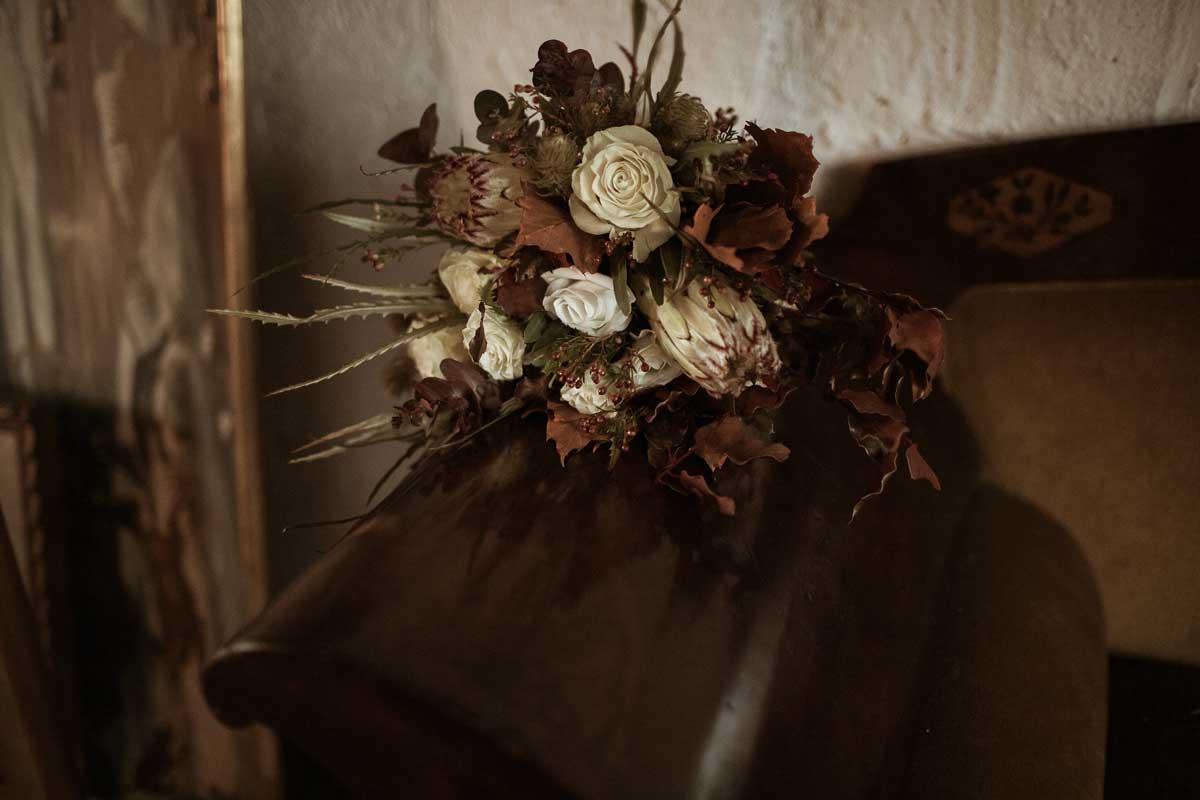 Ramos de novia con flor seca y preservada, venta online para toda España