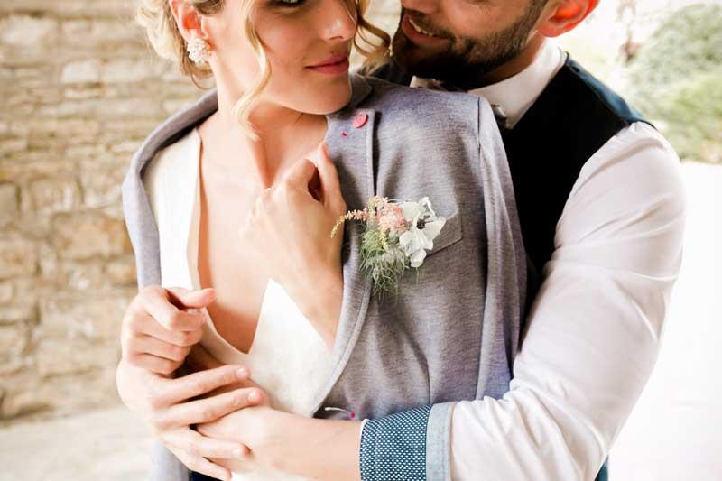 Prendidos de novio para bodas