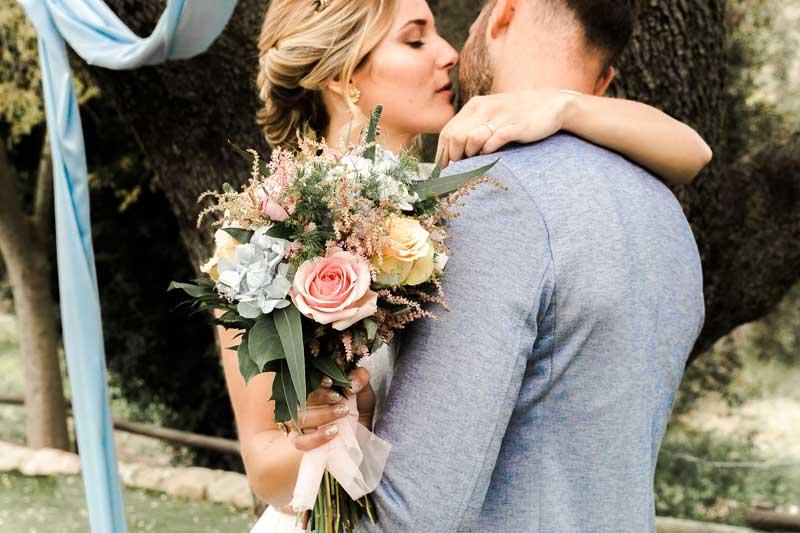ERamos de novia con flor preservada y bouquets naturales