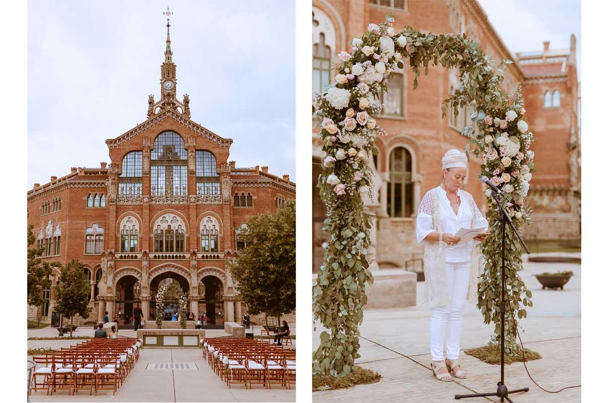 Decoración floral de bodas y eventos en Barcelona.