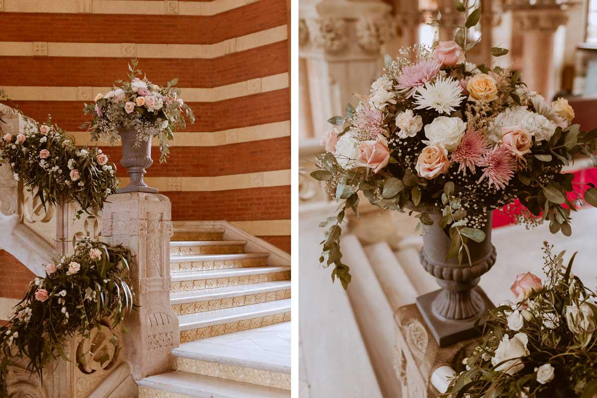 Decoración floral de bodas en Barcelona.