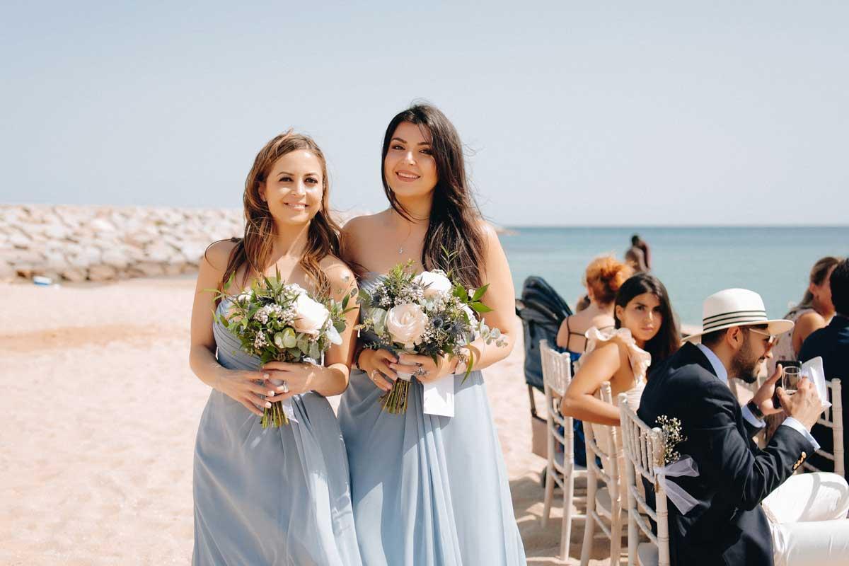 Réplicas de ramos de novia para madrinas