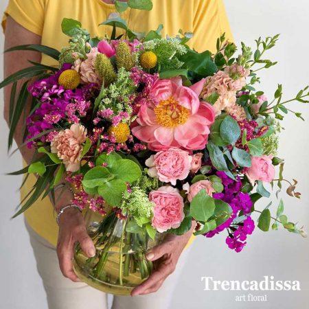 Ramo de flores naturales para enviar. Badalona-Barcelona