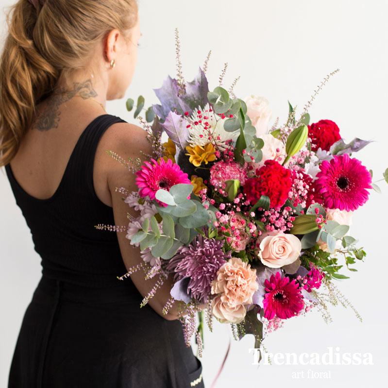 Ramos de flores naturales, enviamos a toda España desde Barcelona