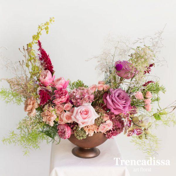 Ramo de flores naturales garden style