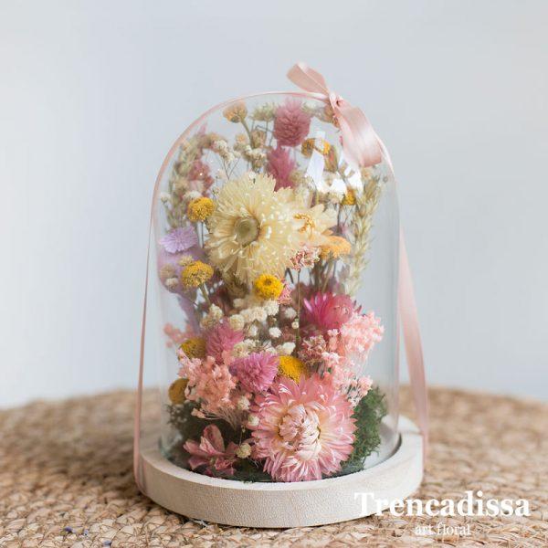 Cúpula con flores secas, envíos a toda España