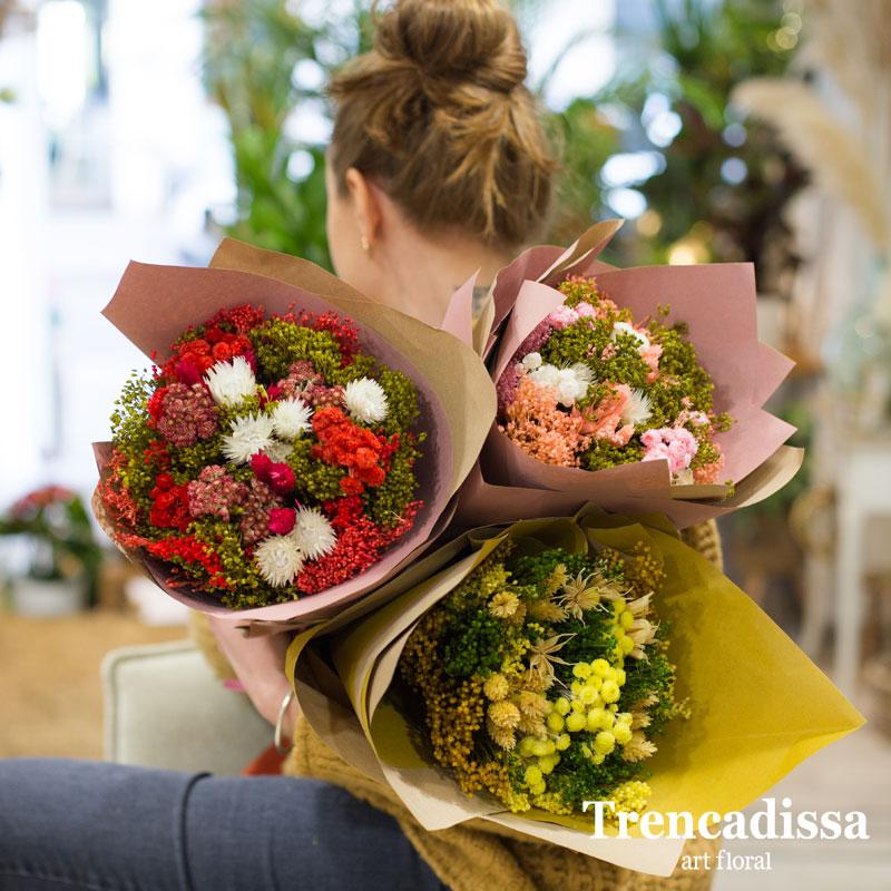 bouquets Bloom, en tres colores, venta online