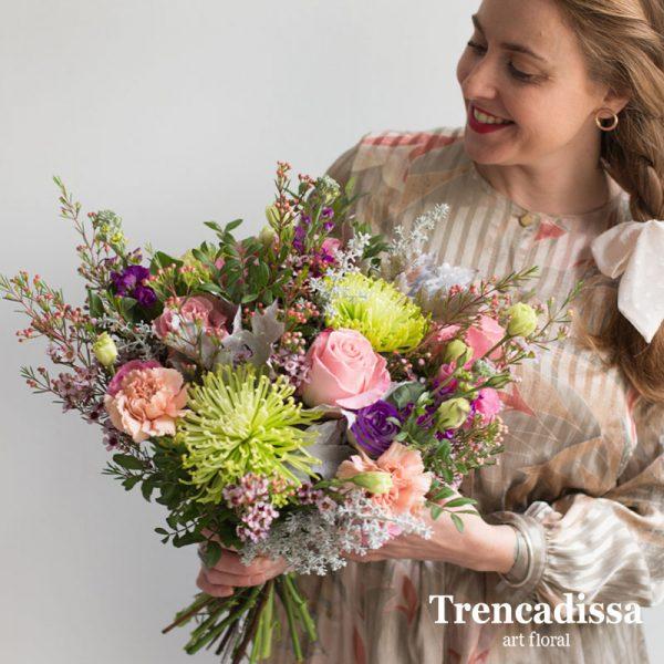Ramos de flores naturales, venta online desde Badalona-Barcelona