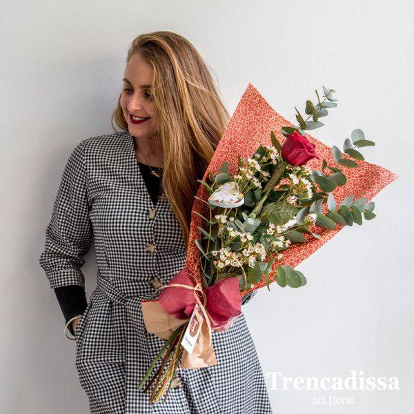 Rosa roja natural San Valentín Badalona