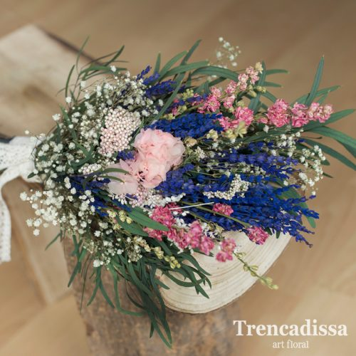 replicas de ramos de novia preservados