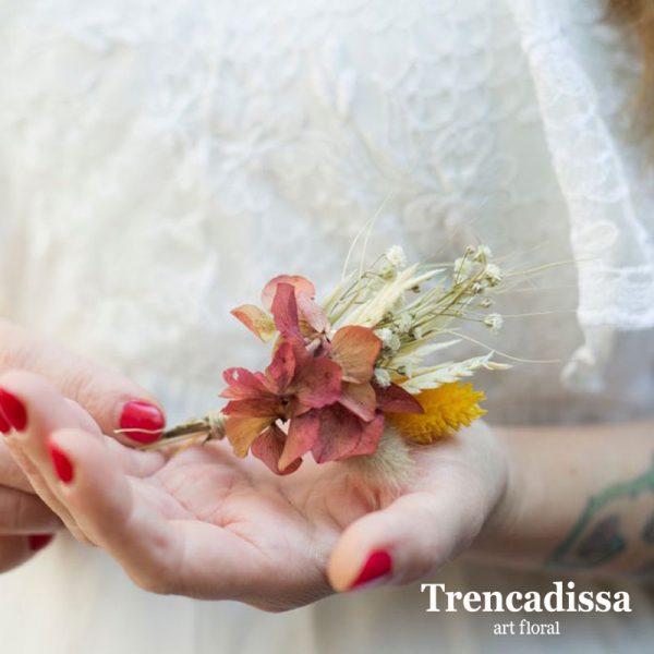 Prendido o solapa de boda, venta online desde Barcelona